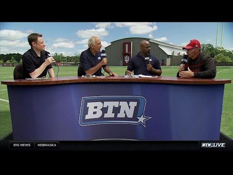Tom Allen Interview - Indiana Football Bus Tour