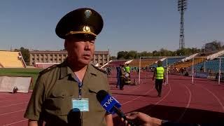 В Шымкенте проходят соревнования по пожарно-прикладному спорту