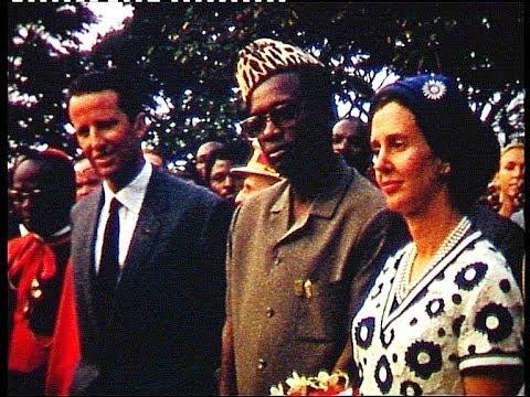 Congo 60s Koning Boudewijn, Pr. Kasavubu