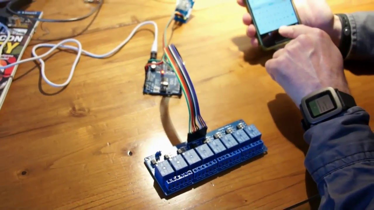 Arduino opening 8 relay GSM module via SMS sim800L