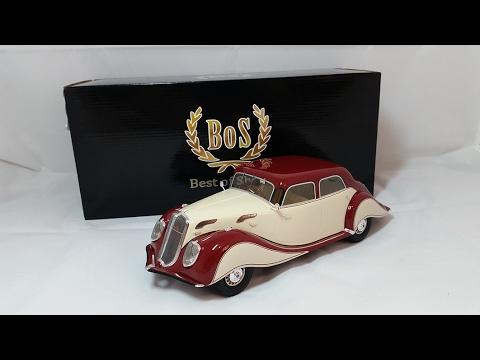 BoS models 1:18 Panhard Levassor dynamic 1936 обзор модели .