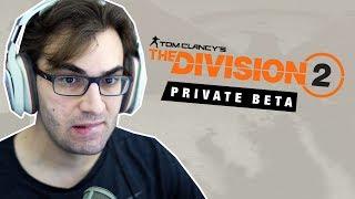 THE DIVISION 2 BETA - Gameplay do Início!