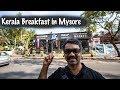Fresh Catch Sea Food Restaurant Mysore| Kerala Breakfast and Thaali - Mysore Vlog