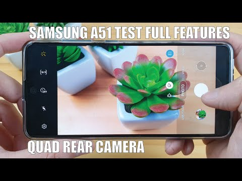 Samsung A51 Test Camera Full Features