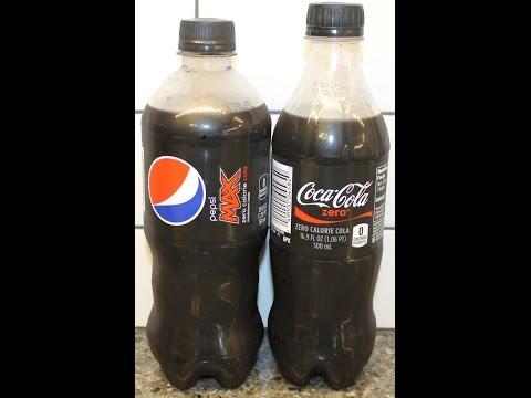 Pepsi Max vs Coca-Cola Zero & Pepsi Max vs Diet Pepsi Blind Taste Test