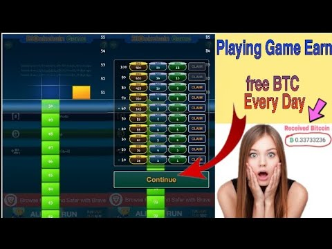How To Earn 0.5 BTC By Playing Game Make Money With Bitcoins