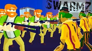 SHOTGUNS vs ZOMBIES! Destroy THE crowd of ZOMBIES and SAVE the CHOSEN swarmz Game from CoolGAMES