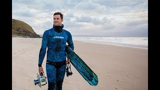 Southern Cross graduate Lucas Handley shares his passion for the ocean