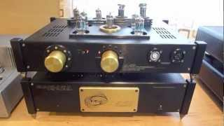 High-End Electrostatic Headphone Amplifiers for the Stax SR-009