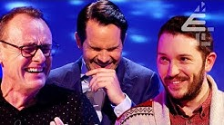 """""""Carrot in a Box"""" Jimmy Carr IN TEARS After Game with Sean Lock & Jon Richardson! 