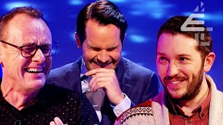 """Carrot in a Box"" Jimmy Carr IN TEARS After Game with Sean Lock & Jon Richardson! 
