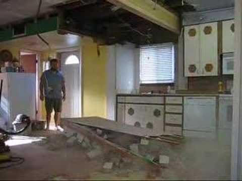 Knocking Down Brick Walls In Kitchen Buddify Youtube