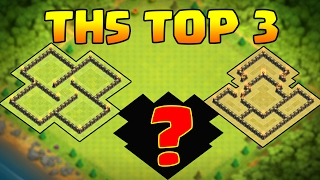 CLASH OF CLANS🔸UNBEATABLE TOWN HALL 5(TH5) DEFENSE BASE LAYOUTS 2017- #3 IS INSANE!!!!