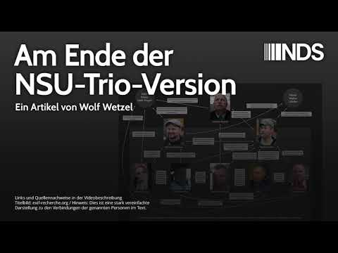Am Ende der NSU-Trio-Version | Wolf Wetzel | NachDenkSeiten-Podcast | 08.03.2020