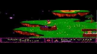 ToeJam & Earl - Toe Jam Earl - Visiting paradise on Level 0 (Extra life trick) - Sega Megadrive - User video