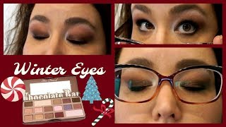 Winter Eyes | Too Faced Chocolate Bar | Glasses | Hooded Eyes | Pan That Palette