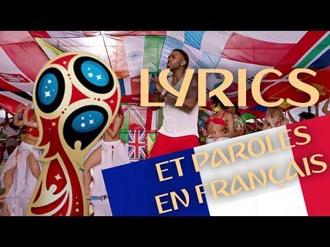 COLORS LYRICS & PAROLES EN FRANÇAIS (French Version)