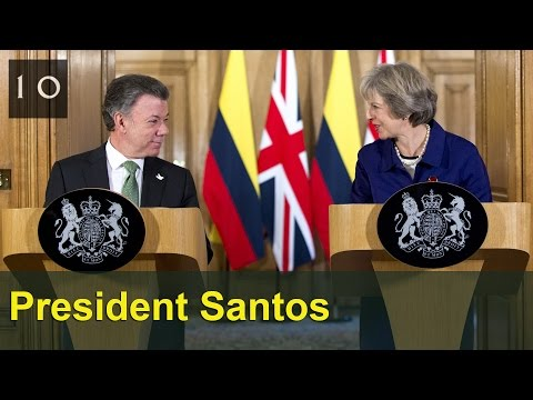 PM and President Santos: joint press conference