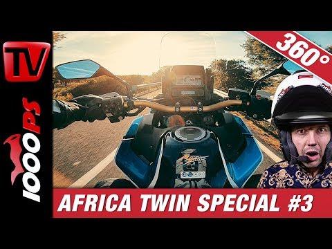 360 Grad Motovlog - Honda AfricaTwin CRF1100L Adventure Sports 2020 - Folge 3/4