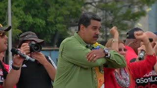 Venezuela's president Nicolas Maduro seeks another six years in power