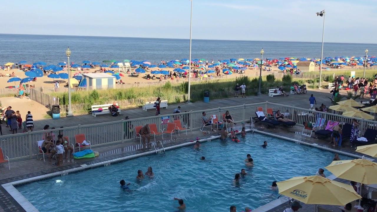 Rehoboth Beach Delaware Atlantic Sands Hotel