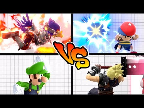 Super Smash Bros. Ultimate - Who has the Strongest Up Special Move? thumbnail