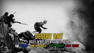 World War 2 Open Games #10 : Desert Rat - Iron Front 1944 - ArmA 3 PvP