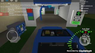 ROBLOX Car Wash #39: PDQ Laserwash G5 At A Mobil Gas Station (Arm Doesn't Work)