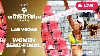 Las Vegas 4-Star - 2018 FIVB Beach Volleyball World Tour - Women Semi Final 1