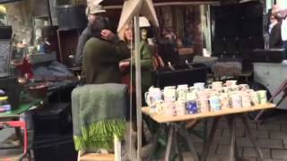 Walking the Knutsford Makers Market part 1