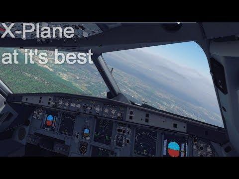 FlightSimulator 2018 Realism ✈ AMAZING Approach & Landing ➡ GENEVA (LSGG)