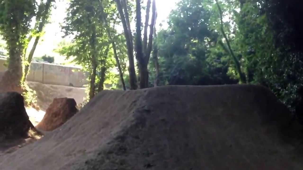 enniskerry dirt jumps ireland youtube