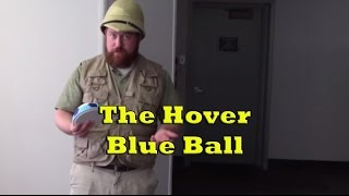 Hover Blue Ball by Wham-o - Gliding Indoor Soccer Ball Review