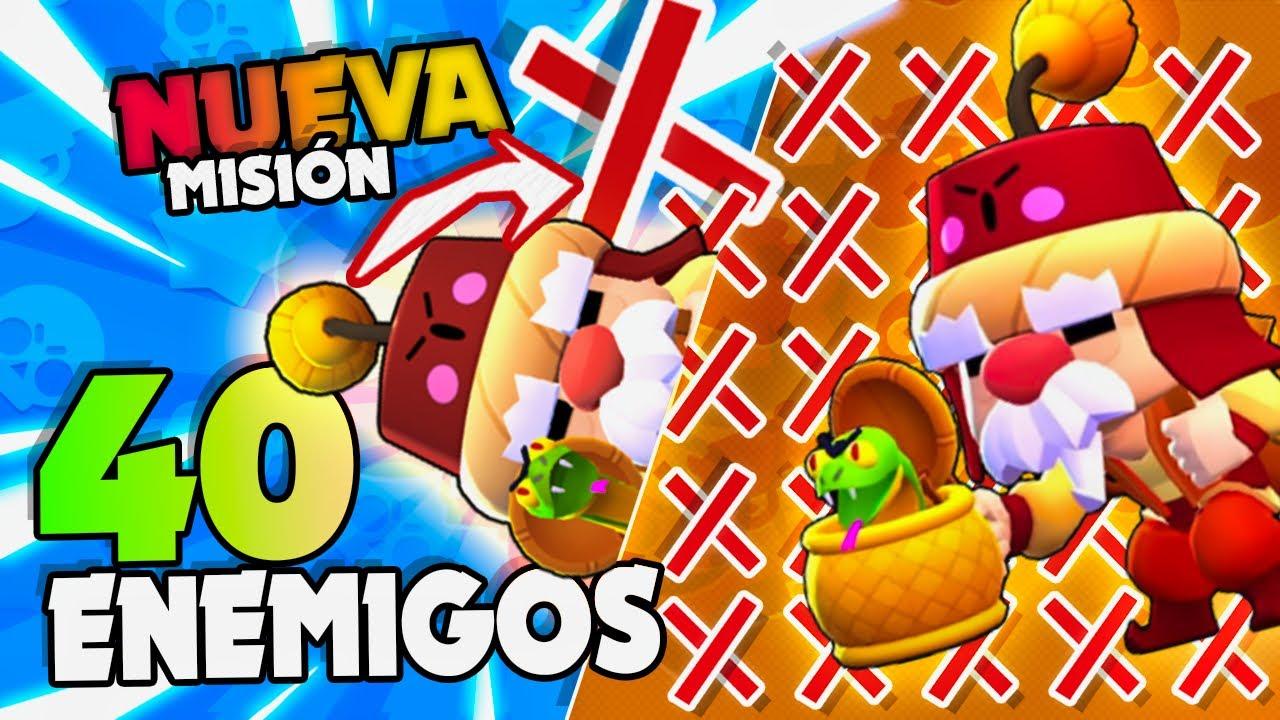 ¡¡ NUEVA MISIÓN DERROTA A 40 ENEMIGOS CON GALE !! en Brawl Stars   Vi Games