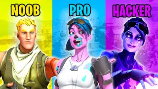 NOOB vs PRO vs HACKER - Fortnite Funny Moments #61