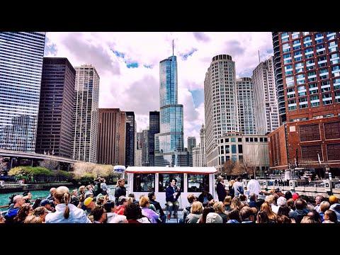 architecture boat tour of chicago hd - youtube