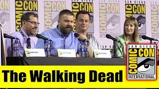The WALKING DEAD | Comic Con 2019 Full Producer Panel (Angela Kang, Robert Kirkman, Gale Ann Hurd)
