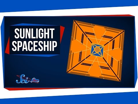 Using Sunlight to Propel Spaceships