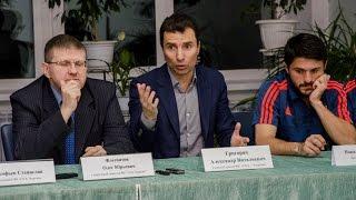 Пресс конференция СКА-Энергия