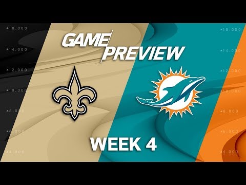 New Orleans Saints vs. Miami Dolphins | Week 4 Game Preview | NFL International Series