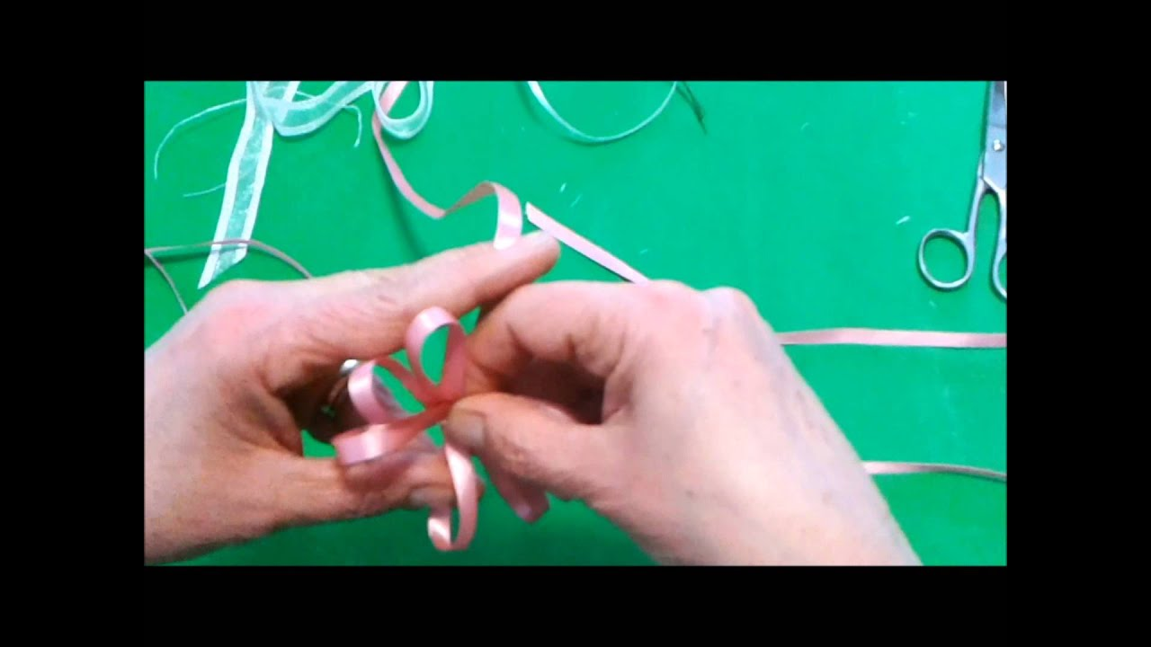 Favori Come fare un fiocco perfetto doppio con nastro di raso - YouTube YG46