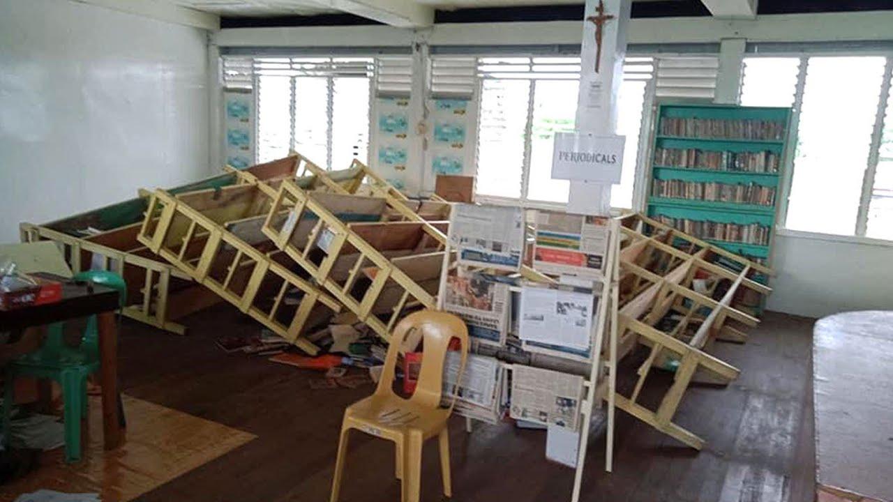 Earthquake Of Magnitude 6 1 Hits Mindanao In Philippines November 16 2020 Youtube