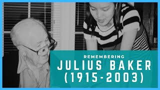 My Teacher Julius Baker: Tribute on his 100th Birthday