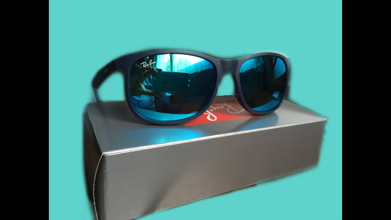 e26420cb0f6 Unboxing RayBan RB4202 6153 55 - YouTube