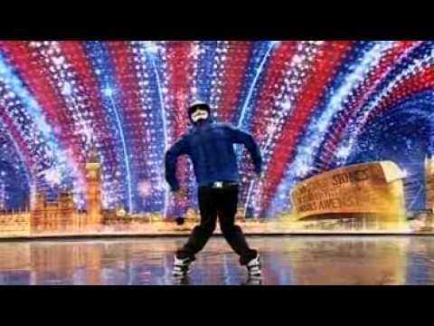 Видео: Tobias Mead - Dance act - Britains Got Talent 2010