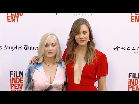"Rebecca Forsythe, Barbara Crampton ""The Book of Henry"" World Premiere"