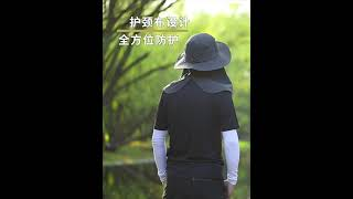 여성 남성 빅사이즈 등산 모자 여름 덮개 얼굴 자외선 …