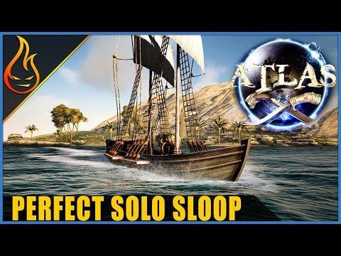 Perfect Solo Sloop Design Atlas Ship Build Guide