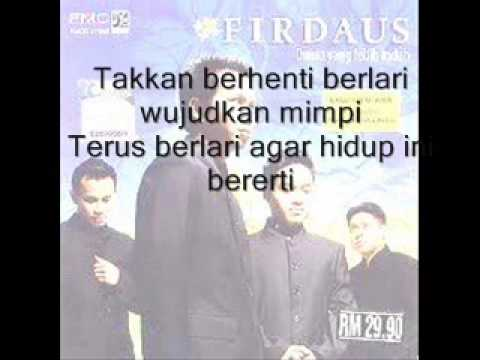 Firdaus ft. Ahbar&Cat Farish- Ku Berlari with lyrics