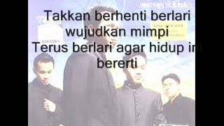 Firdaus ft. Ahbar&Cat Farish- Ku Berlari with lyrics